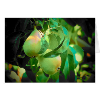 You make a nice pear card