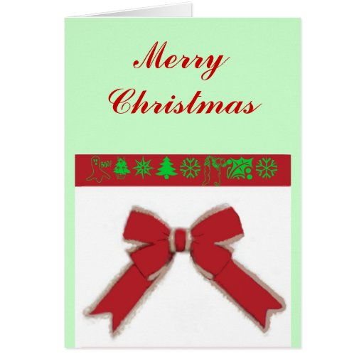You Make Christmas Package Greeting Card