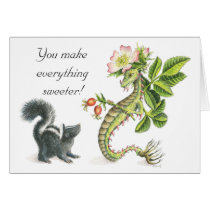 'You Make Everything Sweeter' card