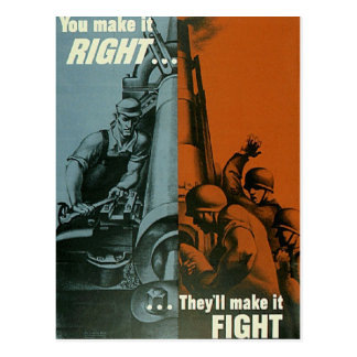 You Make it right Postcard