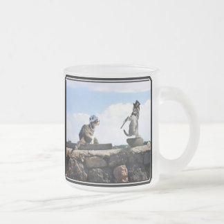 You make me feel like Dancing! 10 Oz Frosted Glass Coffee Mug