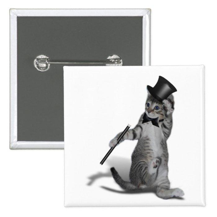 You make me feel like Dancing! Tap Dancing Cat Button