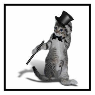 You make me feel like Dancing! Tap Dancing Cat Photo Cutouts