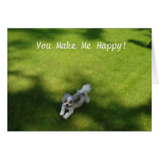 You Make Me Happy! card
