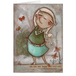 You Make Me Happy - Greeting card