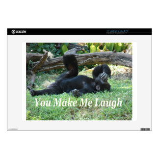 """""""You Make Me Laugh"""" by Carter L. Shepard"""" Decals For 15"""" Laptops"""