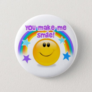 you make me smile! button