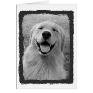 You make me smile! greeting card