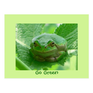 You make me smile - frog card - Customized