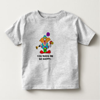 YOU MAKE ME SO HAPPY TODDLER T-SHIRT