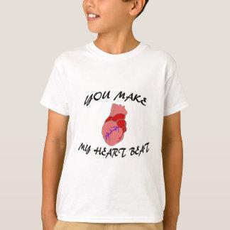 You Make My Heart Beat T-Shirt