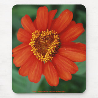 You make my heart bloom mouse pad