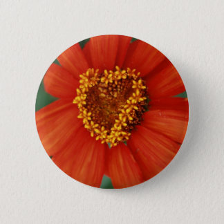 You make my heart bloom pinback button