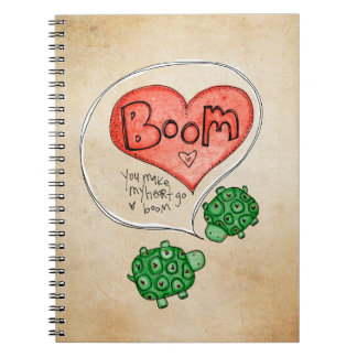 You Make My Heart Go Boom Notebook
