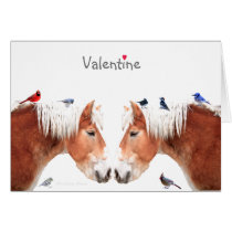 You make my heart go giddy-up: Valentine's Day Card