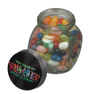 You Make My Heart Skip a Beat Glass Jar