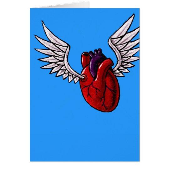You make my heart soar card