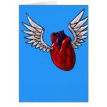 You make my heart soar greeting card