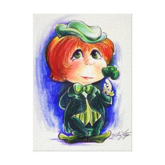 You Make My Irish Eyes Smile!!  Wrapped Canvas