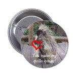 You Make My Quills Quiver! Pinback Buttons