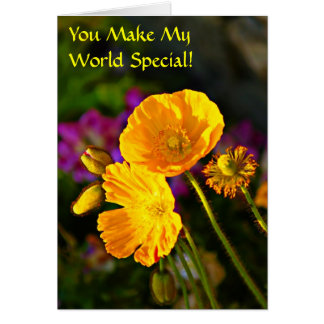 You Make My World Special-Friendship Day Card