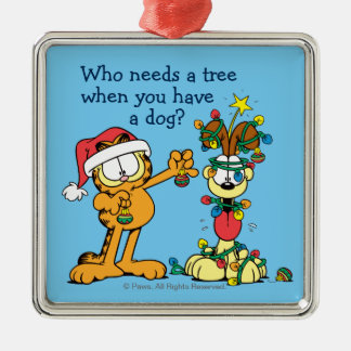 You Make the Holidays Happier Metal Ornament