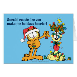 You Make the Holidays Happier Stationery Note Card