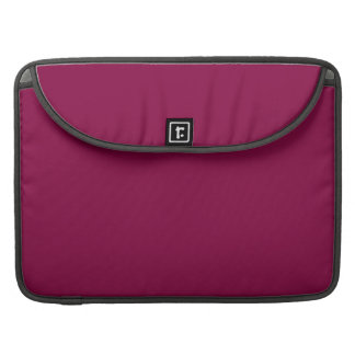YOU MAROON! (solid color) ~ MacBook Pro Sleeves