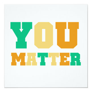 You Matter Card