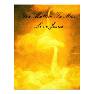 You Matter To Me Letterhead