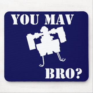 You MAV Bro Mousepad in Blue