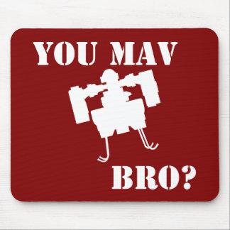 You MAV Bro Mousepad in Red