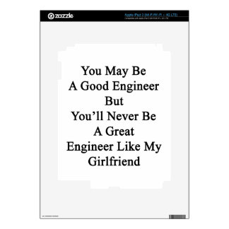 You May Be A Good Engineer But You'll Never Be A G iPad 3 Skins