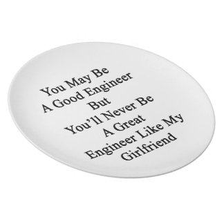 You May Be A Good Engineer But You'll Never Be A G Melamine Plate