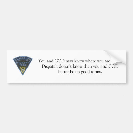 You may know bumper sticker