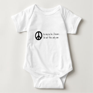 You May Say I'm a Dreamer Baby Bodysuit