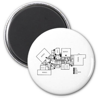 You, Me and Everyone Else 2 Inch Round Magnet