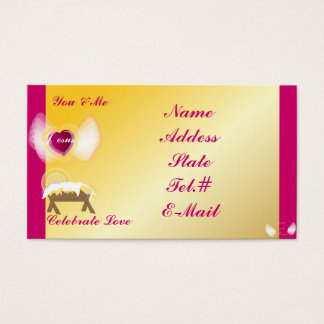 You Me And Jesus Celebrate Love-Customize Business Card