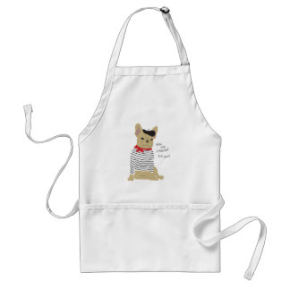 You, me, cheese? adult apron