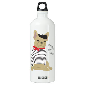 You, me, cheese? aluminum water bottle
