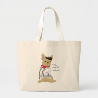 You, me, cheese? large tote bag