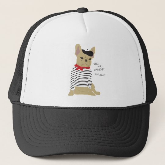 You, me, cheese? trucker hat