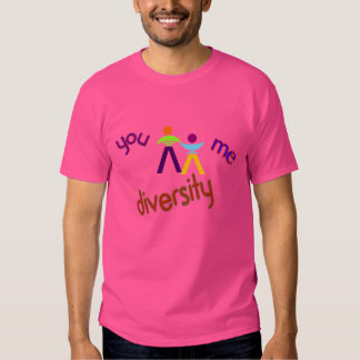 You Me Diversity Logoed Branded T-shirt