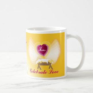 You Me Jesus Celebrate Love-Customize Coffee Mug