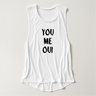 You Me Oui | French Typography Tank Top