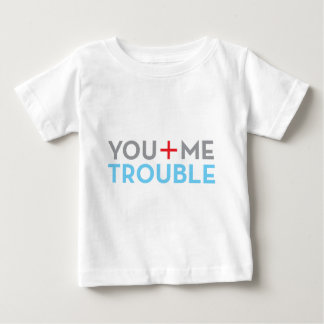 you me trouble design shirt
