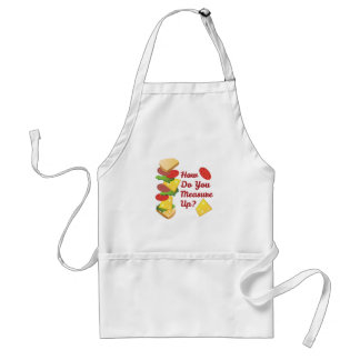 You Measure Up Adult Apron