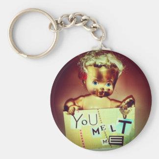 you melt me keychain