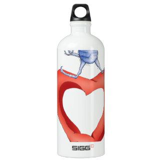 you melt my heart - cat cartoon, tony fernandes SIGG traveler 1.0L water bottle