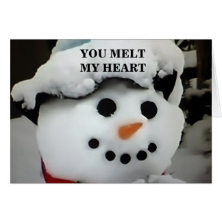 YOU MELT MY HEART / MAKE MY LIFE COMPLETE CARD